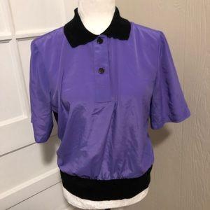 Adorable Purple Vintage Kelly Scott Top